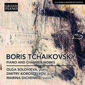 Album artwork for B. Tchaikovsky: Piano & Chamber Works