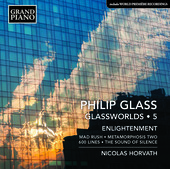 Album artwork for Glass: Glassworlds, Vol. 5