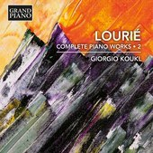 Album artwork for Lourié: Complete Piano Works, Vol. 2