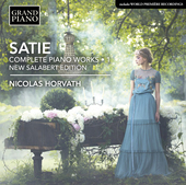 Album artwork for Satie: Complete Piano Works, Vol. 1