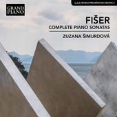 Album artwork for Fišer: Complete Piano Sonatas / Simurdova