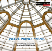 Album artwork for Tanya Ekanayaka: 12 Piano Prisms