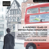 Album artwork for A Hundred Years of British Piano Miniatures