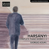 Album artwork for Harsányi: Complete Piano Works, Vol. 3