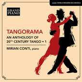 Album artwork for Tangorama - An Anthology of 20th Century Tango, Vo
