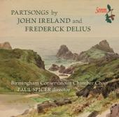 Album artwork for Partsongs by DELIUS and Ireland