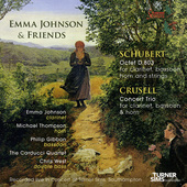 Album artwork for Emma Johnson & Friends - Schubert & Crusell