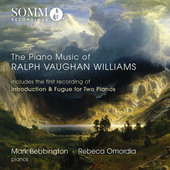 Album artwork for The Piano Music of Ralph Vaughan Williams