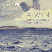 Album artwork for Alwyn: String Quartets Nos. 10-13