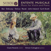 Album artwork for Entente Musicale - Music for Violin and Piano