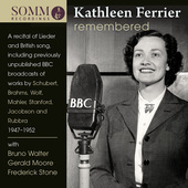 Album artwork for Kathleen Ferrier Remembered