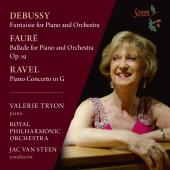 Album artwork for Debussy, Fauré & Ravel: Works for Piano & Orchest
