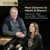 Album artwork for Mignone & Albéniz: Piano Concertos