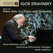 Album artwork for Stravinsky: Piano Music - Music for Piano & Orches