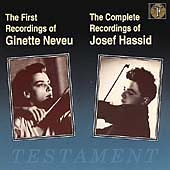 Album artwork for NEVEU: THE FIRST RECORDINGS / HASSIS: COMPLETE REC