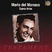 Album artwork for Mario Del Monaco:  Opera Arias
