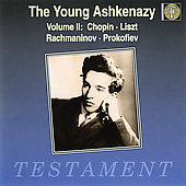 Album artwork for The Young Ashkenazy, Volume II