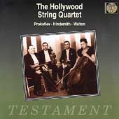 Album artwork for The Hollywood String Quartet