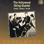 Album artwork for Hollywood Str Quartet