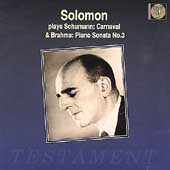 Album artwork for Solomon Plays Piano