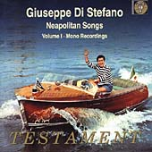 Album artwork for Giuseppe di Stefano: Neapolitan Songs Vol. 1