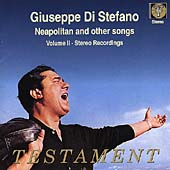 Album artwork for Giuseppe di Stefano: Neapolitan Songs Vol. 2