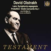 Album artwork for David Oistrakh