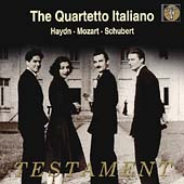 Album artwork for Mozart/Haydn/Schubert:Quartetto Italiano