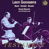 Album artwork for Leon Goossens Plays..