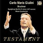 Album artwork for CARLO MARIA GIULINI CONDUCTS BRUCKNER
