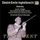 Album artwork for DESIRE-EMILE INGHELBRECHT CONDUCTS DEBUSSY