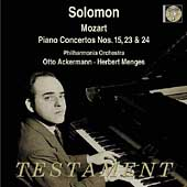 Album artwork for Solomon : Mozart