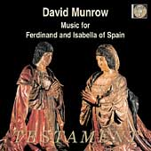 Album artwork for MUSIC FOR FERDINAND AND ISABELLA OF SPAIN