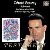 Album artwork for GERARD SOUZAY SINGS
