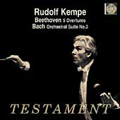 Album artwork for RUDOLF KEMPE CONDUCTS BEETHOVEN: 5 OVERTURES