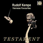Album artwork for KEMPE CONDUCTS VIENNESE FAVOURITES