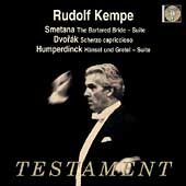 Album artwork for KEMPE CONDUCTS SMETANA / DVORAK / HUMPERDINCK