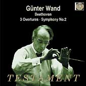 Album artwork for GUNTER WAND CONDUCTS: 3 OVERTURES & SYMPHONY NO. 2