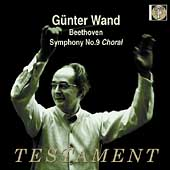 Album artwork for GUNTER WAND CONDUCTS: SYMPHONY NO. 9
