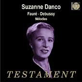 Album artwork for SUZANNE DANCO SINGS...
