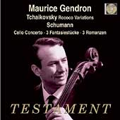 Album artwork for MAURICE GENDRON PLAYS TCHAIKOVSKY AND SCHUMANN