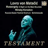 Album artwork for LOVRO VON MATACIC CONDUCTS MUSSORGSKY & RIMSKY-KOR