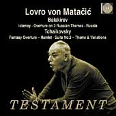 Album artwork for LOVRO VON MATACIC CONDUCTS BALAKIREV AND TCHAIKOVS