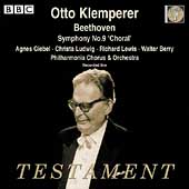 Album artwork for OTTO KLEMPERER CONDUCTS BEETHOVEN SYMPHONY NO.9