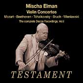 Album artwork for MISCHA ELMAN: THE COMPLETE DECCA RECORDINGS, VOL.1