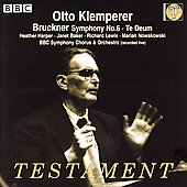 Album artwork for BRUCKNER: SYMPHONY NO.6; TE DEUM
