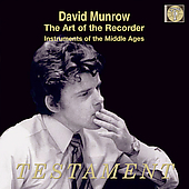 Album artwork for The Art of the Recorder / David Munrow