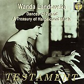 Album artwork for WANDA LANDOWSKA - DANCES OF POLAND