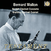 Album artwork for Bernard Walton Plays Mozart & Brahms