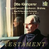 Album artwork for KLEMPERER:THE LAST CONCERT
